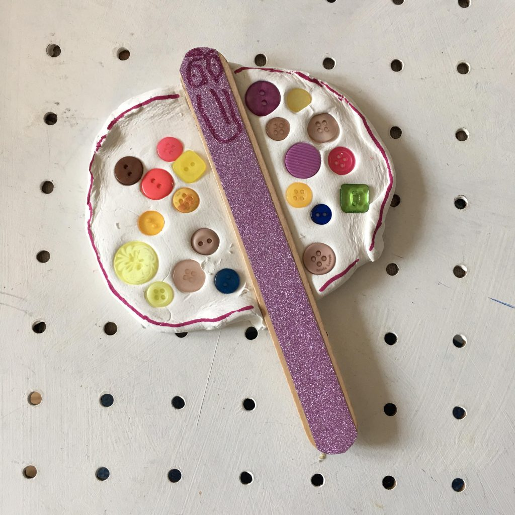 button fairy craft