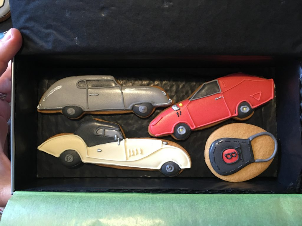 Classic Car Show Biscuit Collection