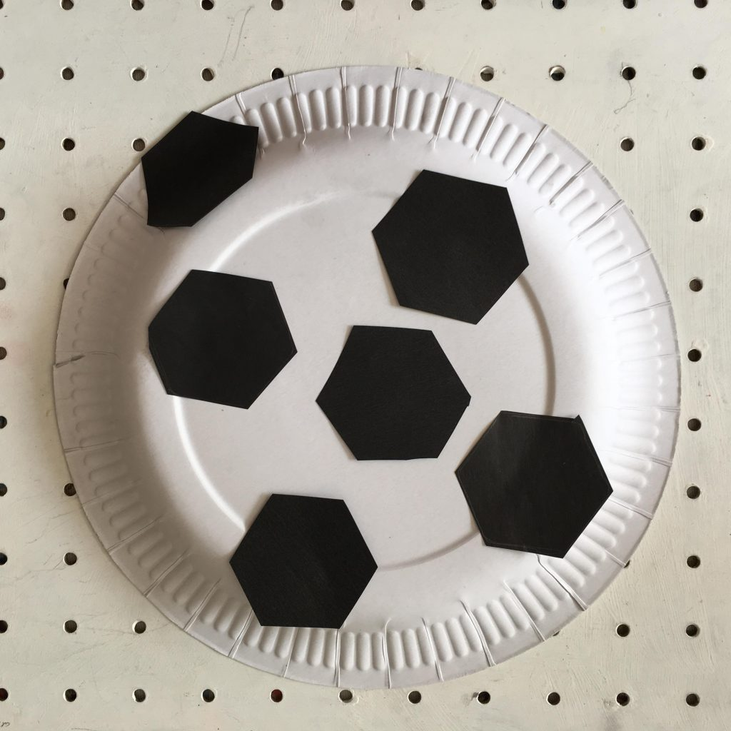 Euro 2016 football craft for kids