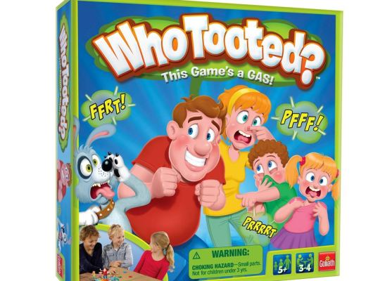 Who Tooted family board game