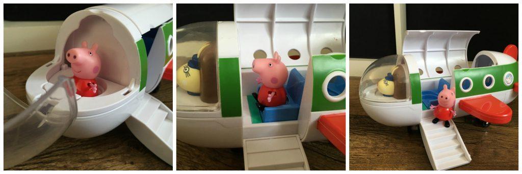 Air Peppa Jet toy