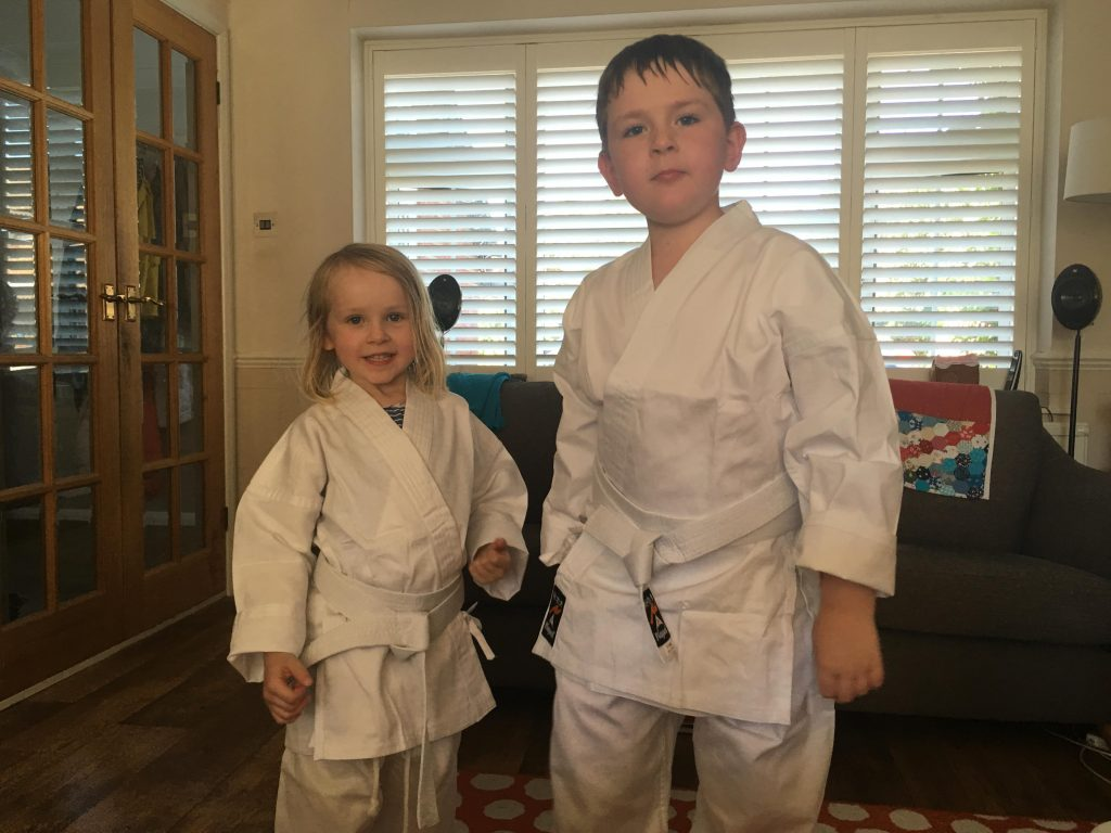 my karate kids
