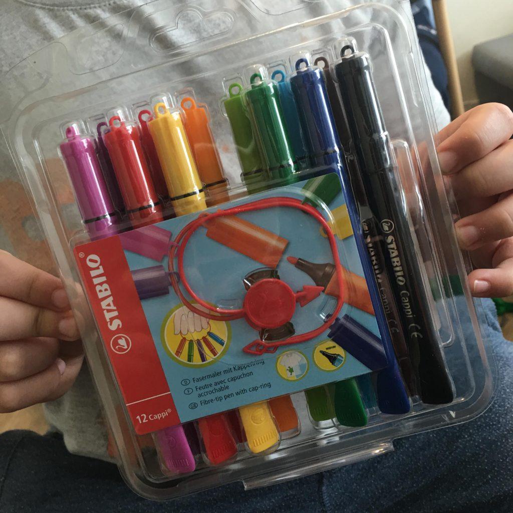 Stabilo's Cappi pens