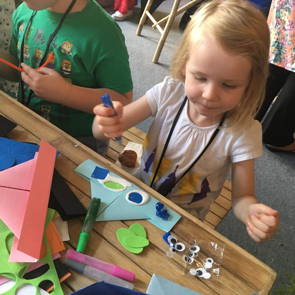 Swallows and Amazons crafting for kids