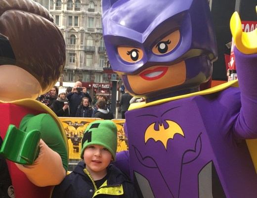 Lego Batman Movie premiere in Leicester Square