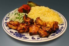 Elena's Chicken Shish Kabob - the Number 7 plate - my favorite