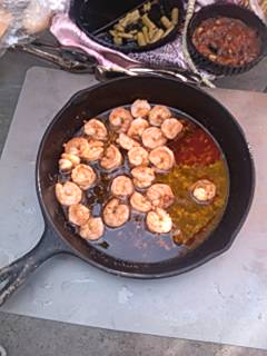 Gambas Al Ajillo - Barbecued Chili Garlic Shrimp