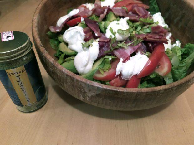 California BLT Justice Salad