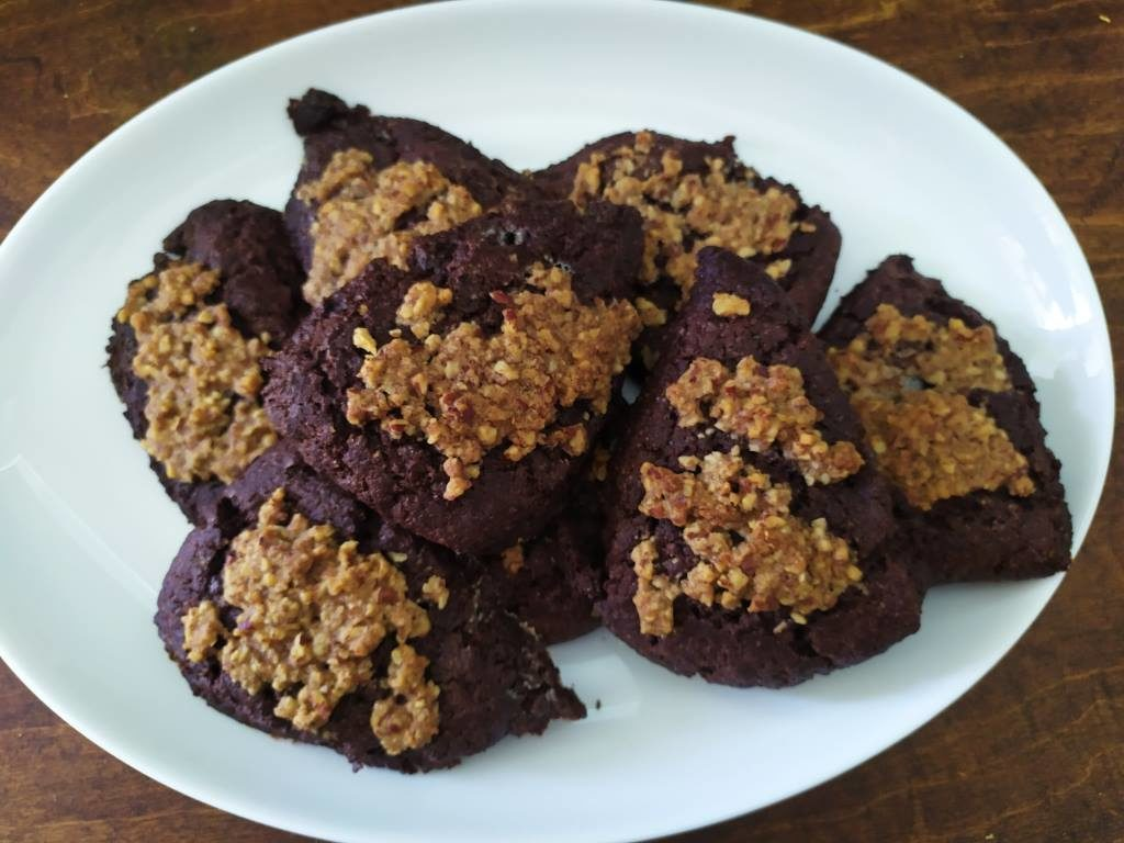 Chocolate Praline Scones