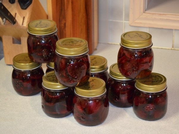 Watermelon Pickled Beets