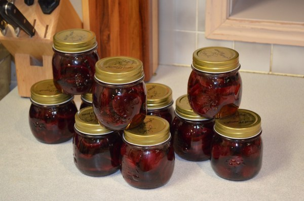 Watermelon Pickled Beets - Enjoy Throughout the Year