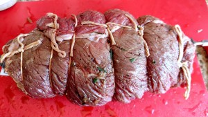 Rotisserie Stuffed Beef Roast for Labor Day or Any Day