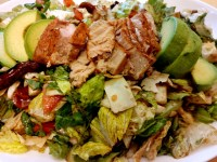 Air-Fried Tuna Steak Salad with Blood Orange Vinaigrette