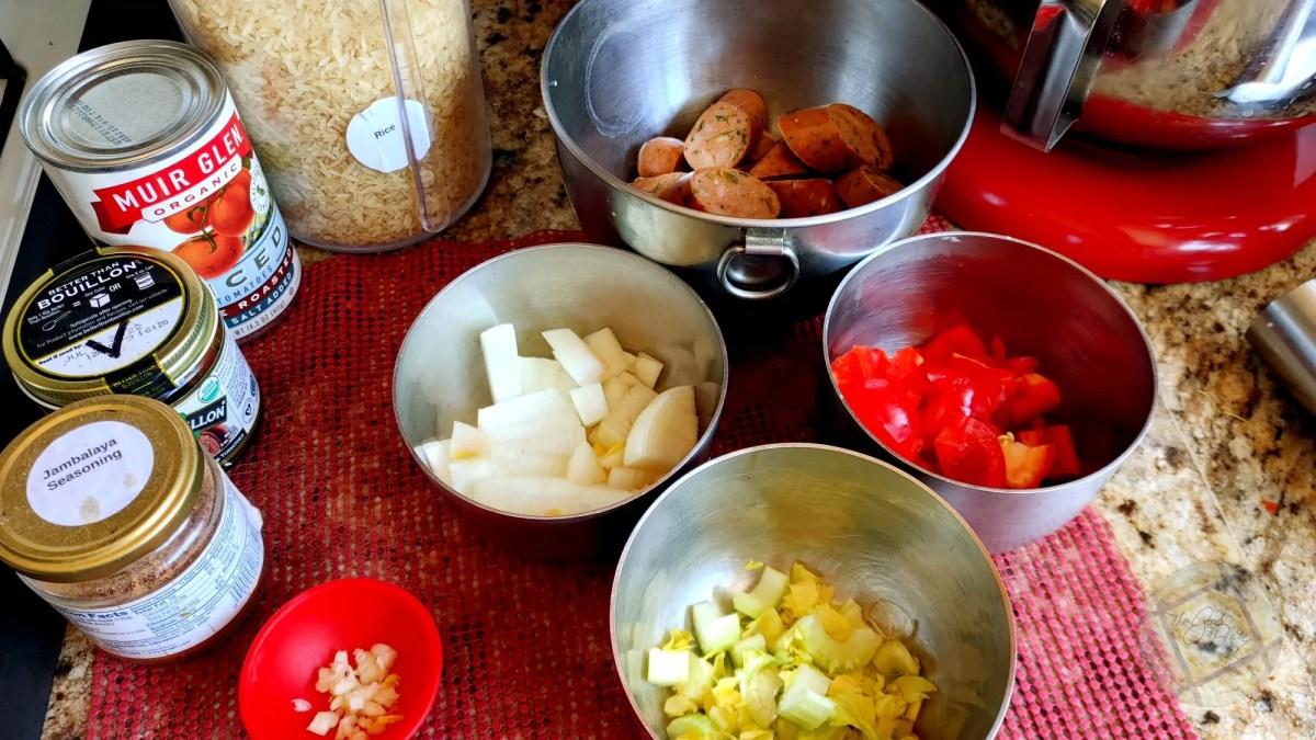 Jambalaya Instant Pot