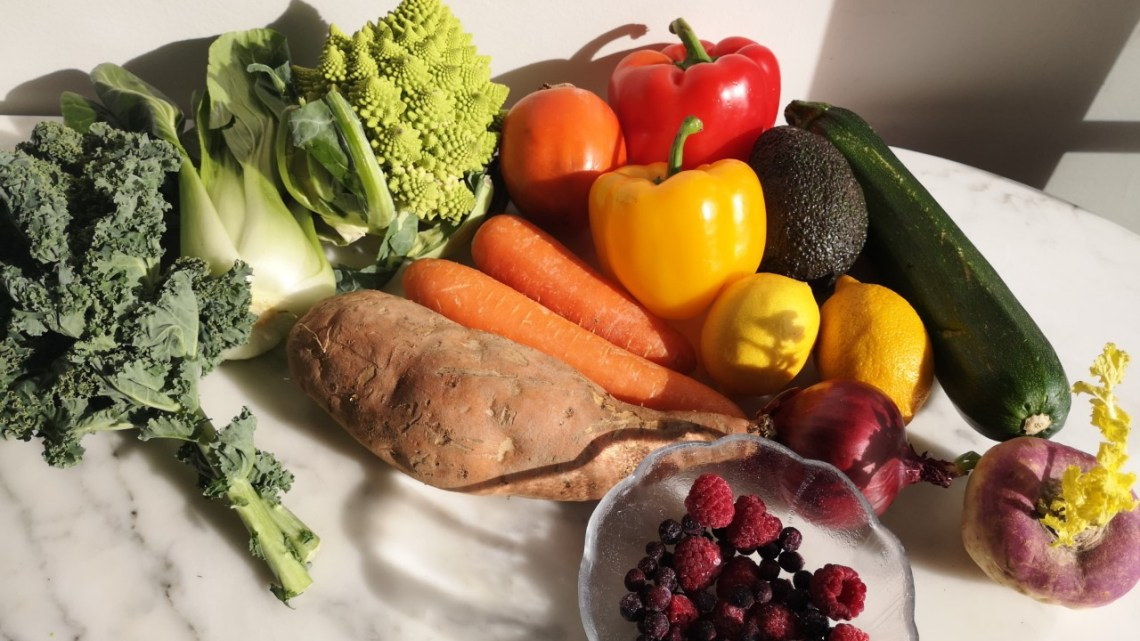 Fruits and vegetables wahls protocol
