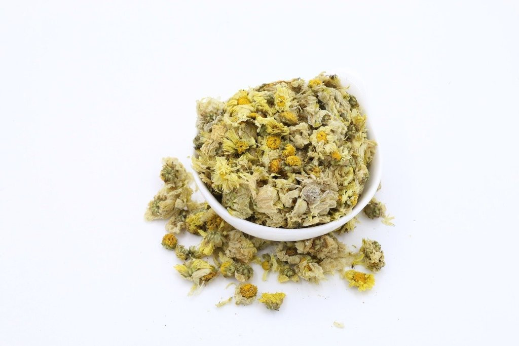 dried chrysanthemum flowers tea
