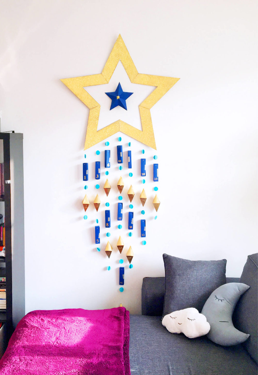 DIY Calendrier de l'Avent Étoile