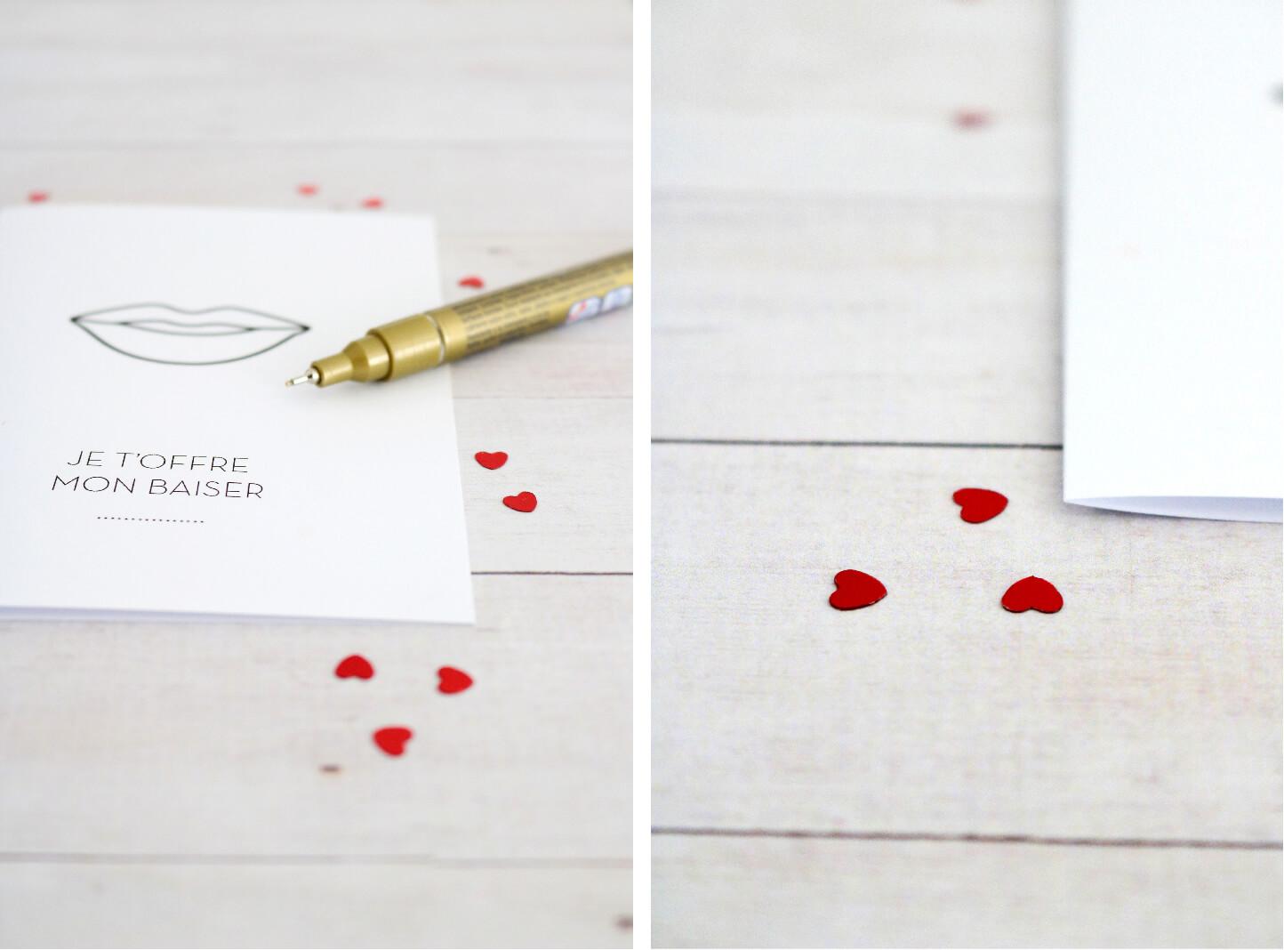 DIY Kiss Me - St Valentin