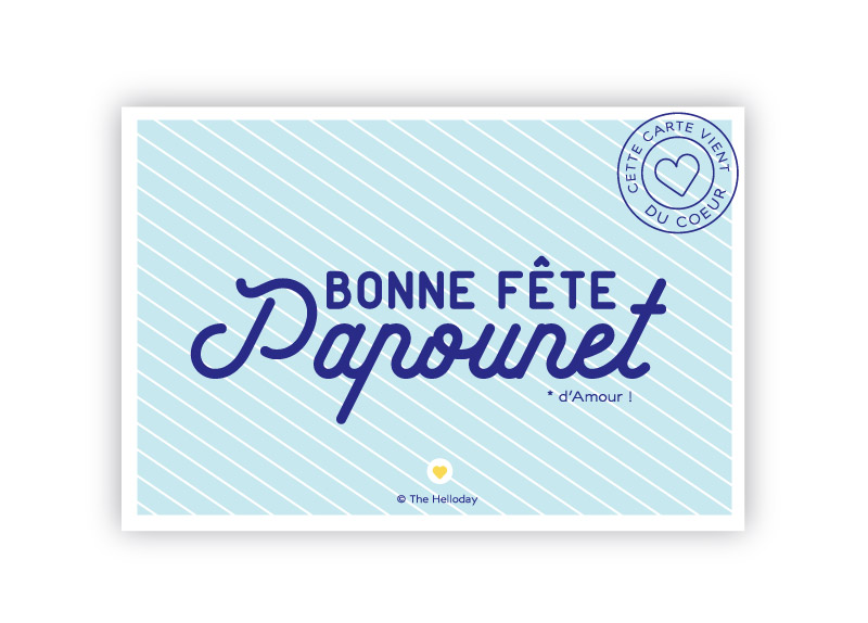 Bonne Fête Papounet