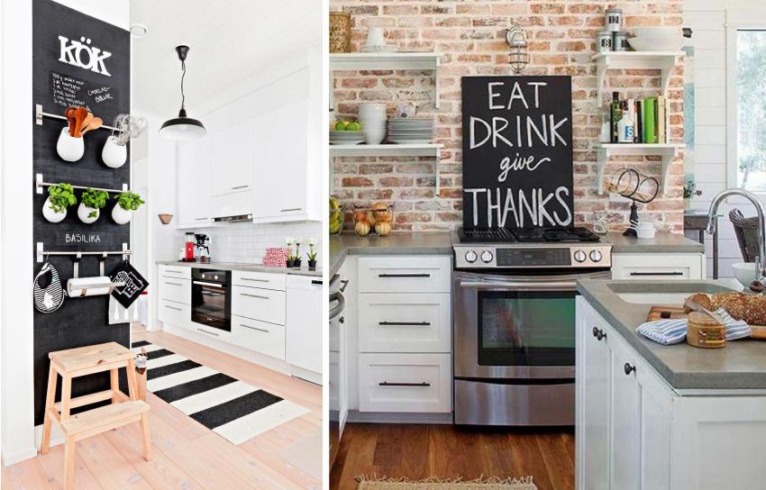 Décorer son intérieur avec de l'ardoise - cuisine