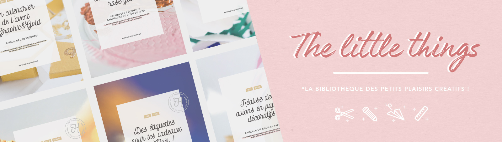 The Helloday - The Little- Things : bibliothèque de Freebies