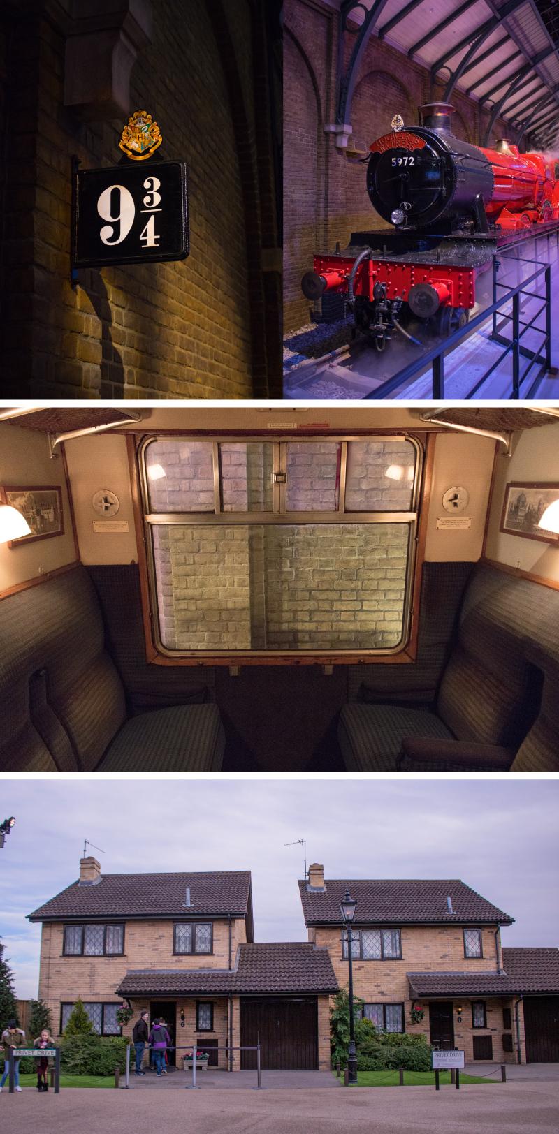 Studio Warner Bros Harry Potter - Jour 2