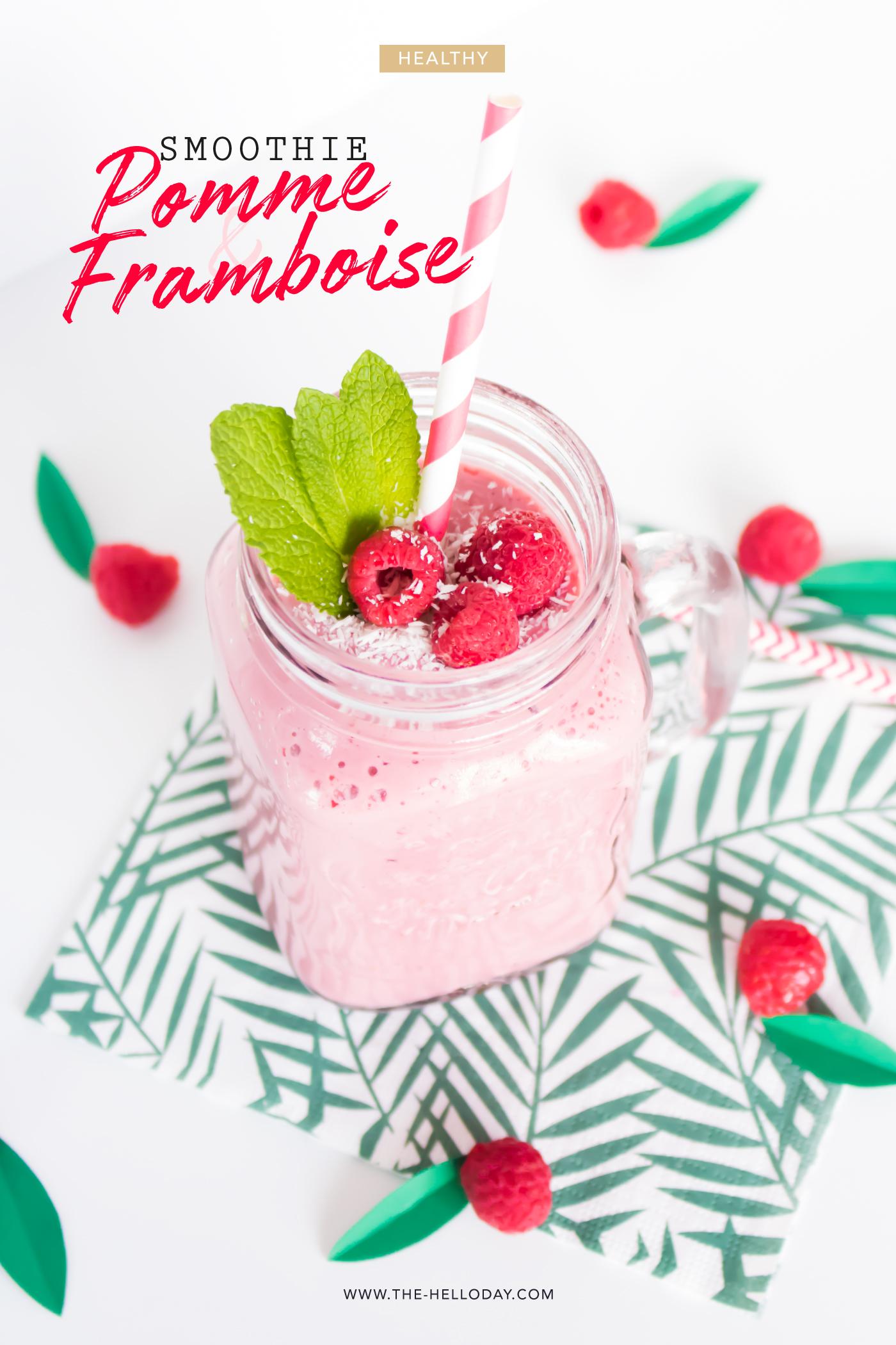 Smoothie Pomme Framboise