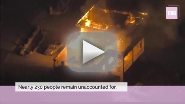 California wild fires prompt evaculations kill dozens