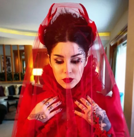 Kat Von D Wedding Dress