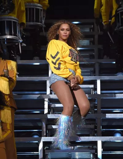 Beyonce on Coachella Stage
