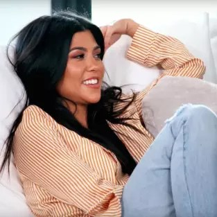 Kourtney Kardashian Laughs