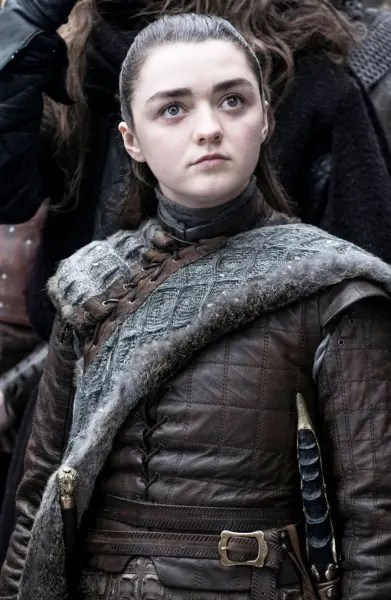 Arya on Season 8