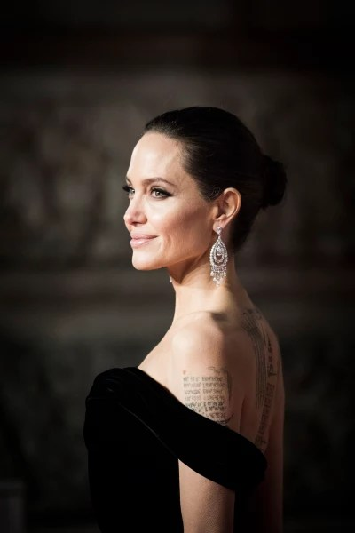 Angelina Jolie at the BAFTAs