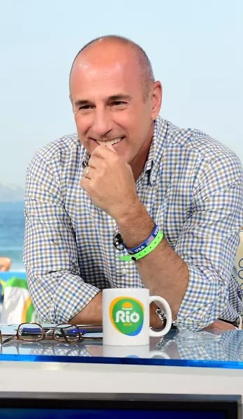 Matt Lauer at the Olympics