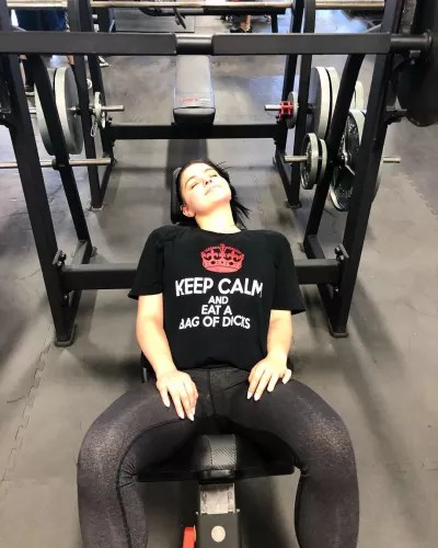 Ariel Works Out and Shades Critics