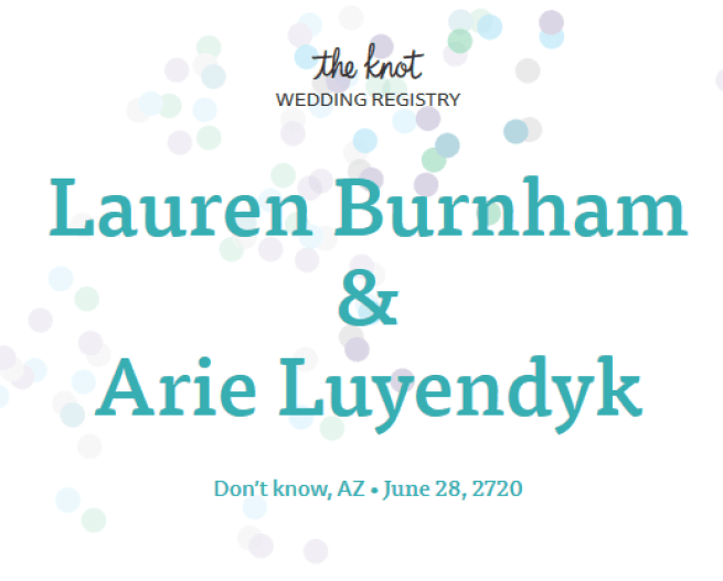 Arie Luyendyk Jr. and Lauren Burnham Wedding Date