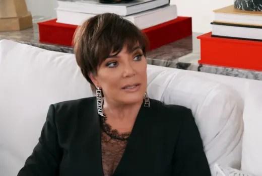 Kris Jenner in the Chanel Earrings
