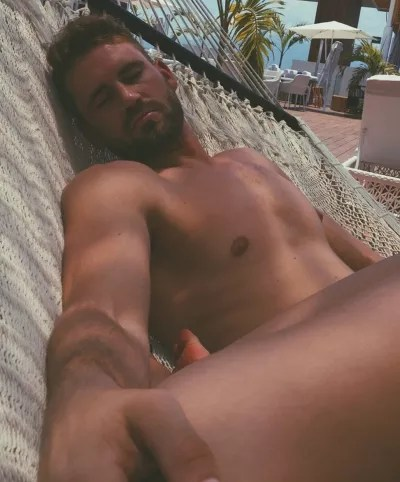 Nick Viall Sleeping