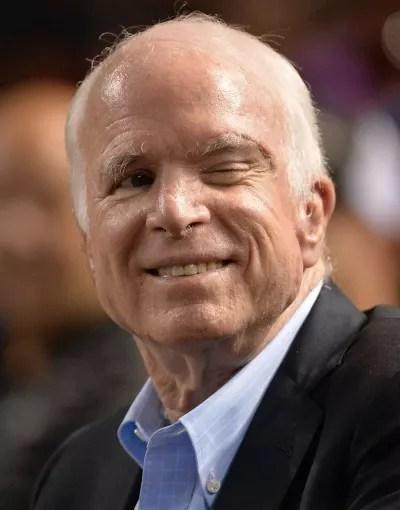 John McCain Winks
