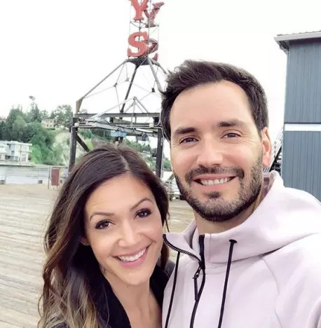 Desiree Hartsock and Husband Chris Siegfried