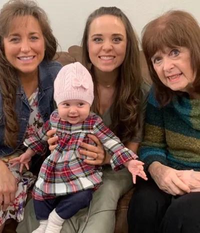 Jinger Duggar reacts to grandma's passing