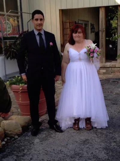 Mohamed Jbali and Danielle Mullins, Wedding Day