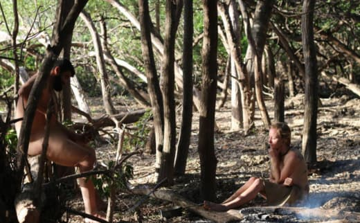 Maci Bookout on Naked and Afraid