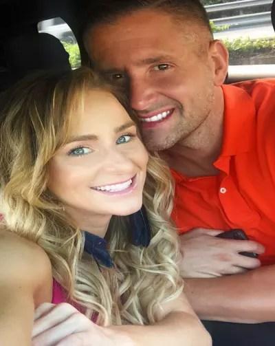 Jason Jordan Smiles with Leah