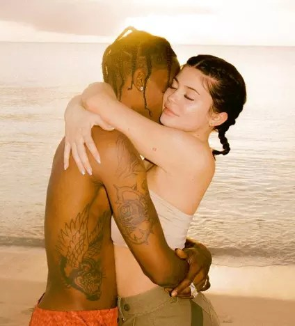 Travis Scott and Kylie Jenner, Post-Baby PDA