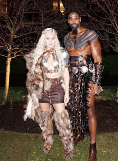 With His Khaleesi