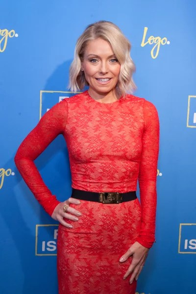 Kelly Ripa in Red