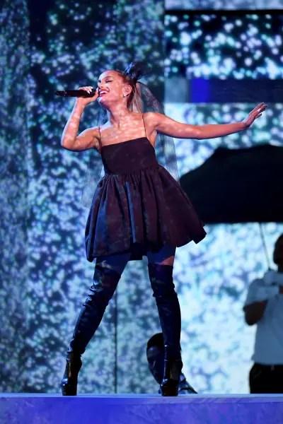 Ariana Grande at the 2018 Billboard Music Awards