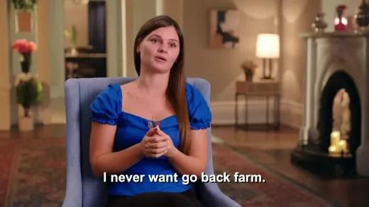 Julia Trubkina - I never want go back farm