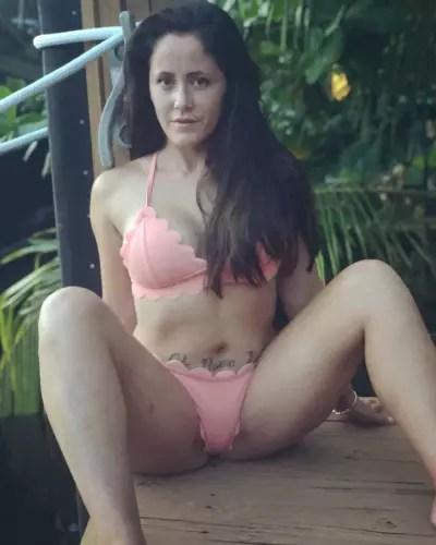 Jenelle Evans Weird Bikini Pic
